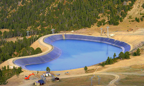 bazine de apa pentru zapada artificiala