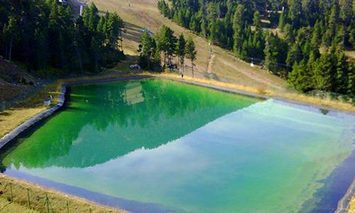 bazine de apa pentru zapada artificiala epdm