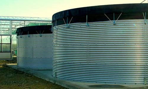 Membrane cilindrice pentru rezervoare de apa